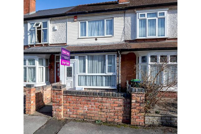 Thumbnail Terraced house for sale in Galton Road, Smethwick