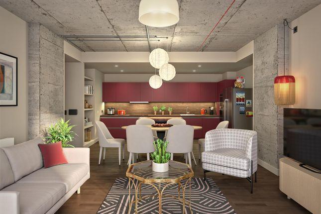 Thumbnail Flat to rent in 1 Atlantic Crescent, Wembley Park