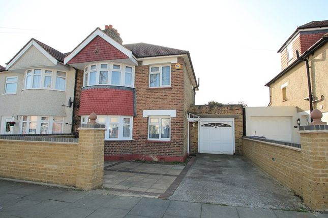 Thumbnail Semi-detached house to rent in Teignmouth Road, Welling, Kent