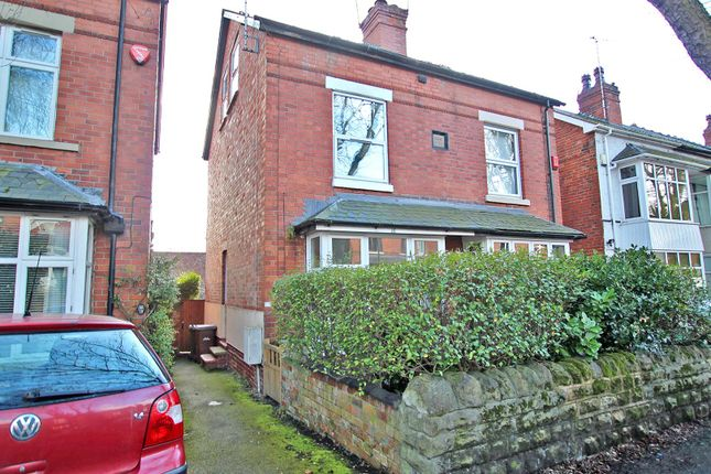 Thumbnail Semi-detached house for sale in Leonard Avenue, Sherwood, Nottingham