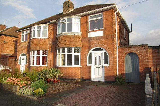3 bed semi-detached house for sale in Fairbourne Road, Leicester