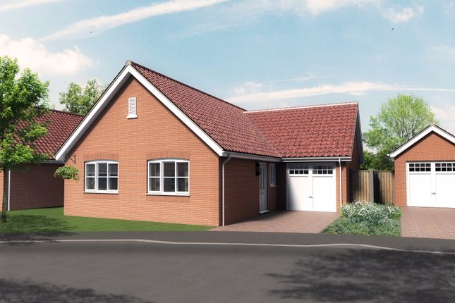 Thumbnail Detached bungalow for sale in Plot 4, Barn Owl Close, Reedham