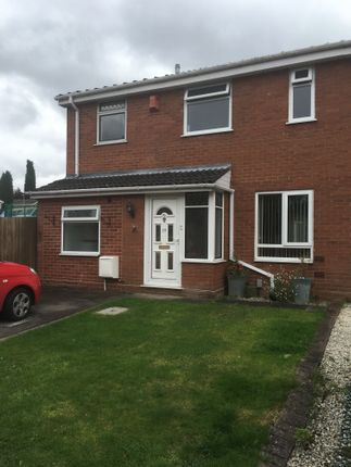 Thumbnail Semi-detached house to rent in Greenlee, Wilnecote, Tamworth, Staffordshire