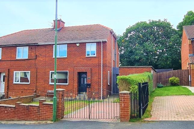 Thumbnail Semi-detached house for sale in Park Drive, Langley Park, Durham