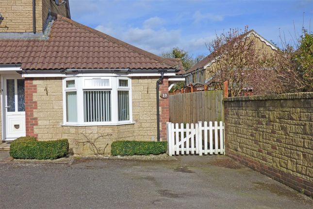 Thumbnail Terraced bungalow to rent in Saunters Close, Wincanton