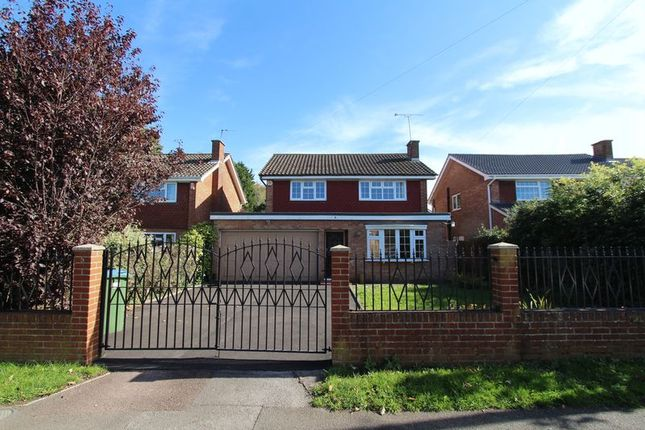 Thumbnail Detached house for sale in Crosstrees, Allotment Road, Sarisbury Green, Southampton