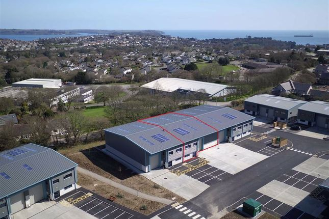 Thumbnail Light industrial to let in Unit D2, Church View Business Park, Falmouth