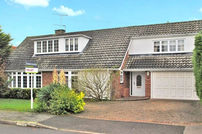 Thumbnail Detached house to rent in Pynchon Paddocks, Little Hallingbury, Herts