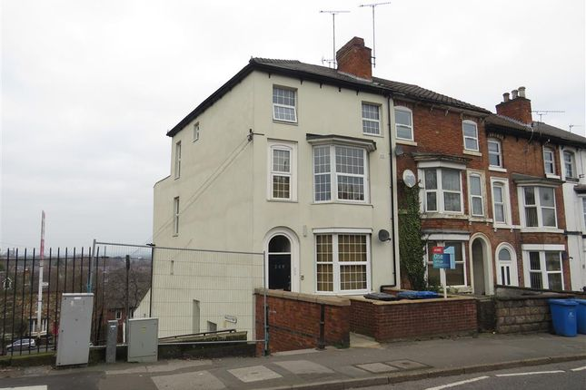 Thumbnail End terrace house for sale in Burton Road, Littleover, Derby