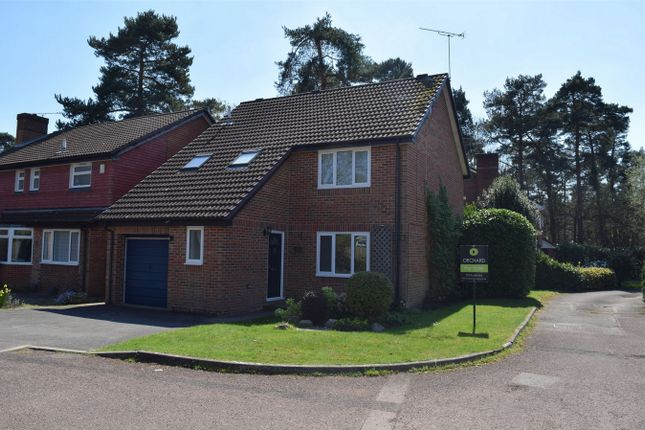 Thumbnail Detached house for sale in Marshall Close, Frimley, Camberley, Surrey