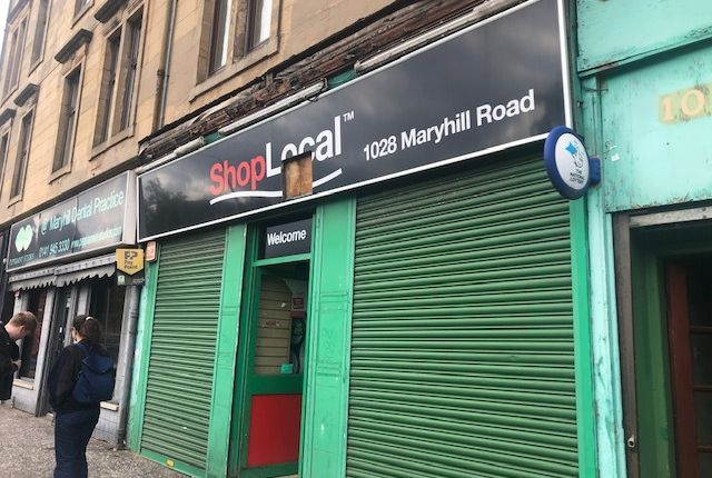 Thumbnail Retail premises to let in Maryhill Road, Glasgow