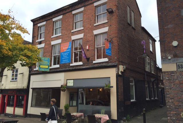 Thumbnail Retail premises for sale in Upper Floors, 51-52 Ironmarket, Newcastle-Under-Lyme, Staffordshire