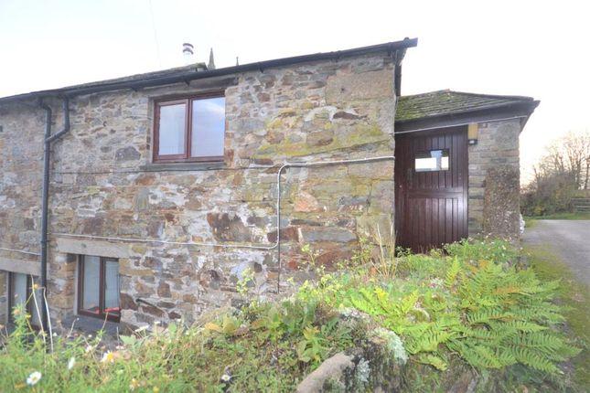 Thumbnail End terrace house to rent in Linkinhorne, Callington, Cornwall