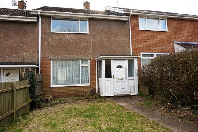 Thumbnail Terraced house for sale in Neyland Path, Cwmbran
