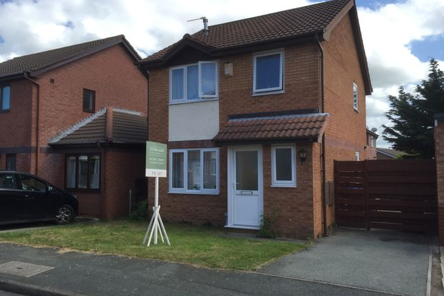 Thumbnail Detached house to rent in Fern Way, Rhyl