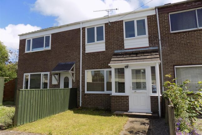 Thumbnail Terraced house to rent in Venns Close, Merlins Bridge, Haverfordwest