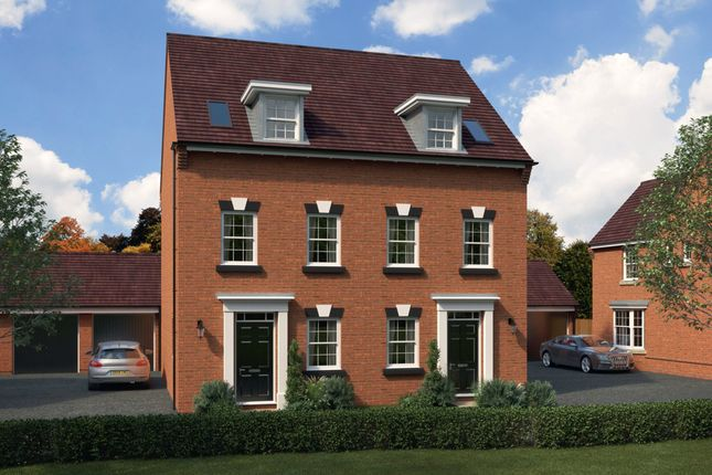 "Thumbnail Semi-detached house for sale in ""Greenwood"" at St. Lukes Road, Doseley, Telford"