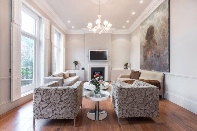 Reception of Eton Avenue, Belsize Park, London NW3