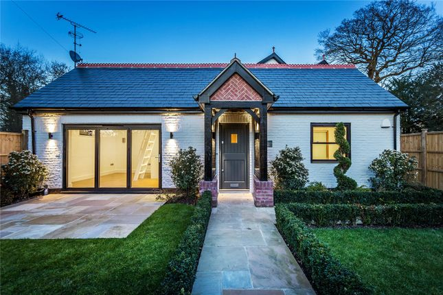 Thumbnail Detached house for sale in Scotts Grove Road, Chobham, Woking