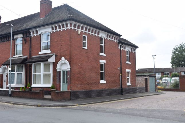 Thumbnail End terrace house to rent in Queen Street, Crewe, Cheshire