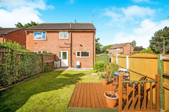 Thumbnail Terraced house for sale in Thornham Close, Upton, Wirral