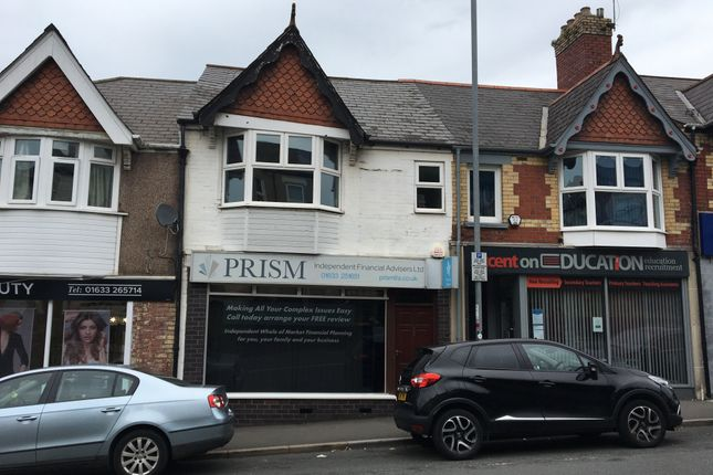 Thumbnail Office for sale in Risca Road, Newport