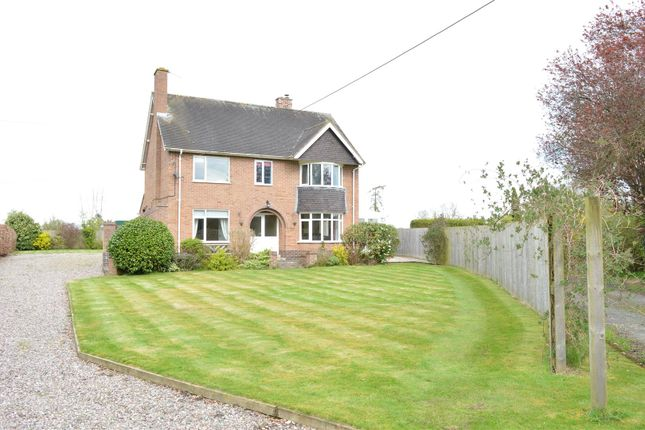 Thumbnail Detached house for sale in Four Crosses, Llanymynech