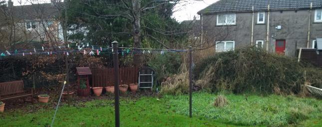 Rear Gardens of Sycamore Avenue, Johnstone, Renfrewshire, . PA5