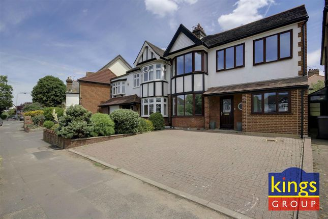 Thumbnail Semi-detached house for sale in The Ridgeway, London