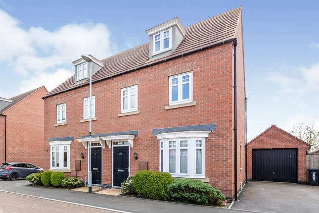 3 bed semi-detached house for sale in Dairy Way, Kibworth Harcourt, Leicester LE8