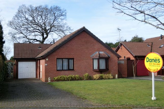 Thumbnail Detached bungalow for sale in Burman Close, Shirley, Solihull