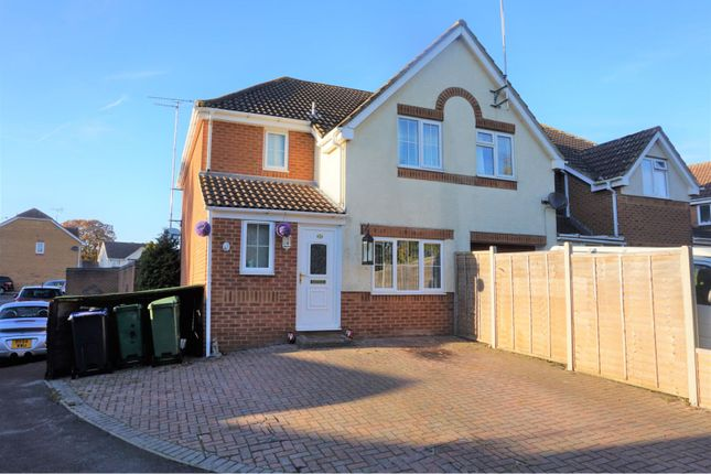 Thumbnail End terrace house for sale in Sycamore Close, Chippenham
