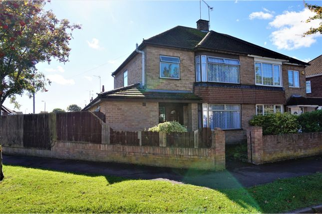 Thumbnail Semi-detached house for sale in Leafields, Dunstable
