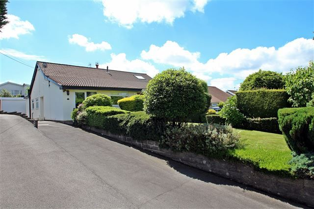 Thumbnail Semi-detached bungalow for sale in Heol-Y-Ffynnon, Efail Isaf, Pontypridd