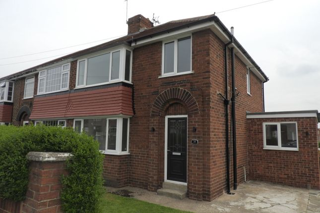 Thumbnail Semi-detached house to rent in Scawthorpe Avenue, Scawthorpe, Doncaster