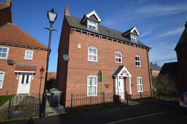 Thumbnail Detached house to rent in Sorrel Road, Witham St. Hughs, Lincoln