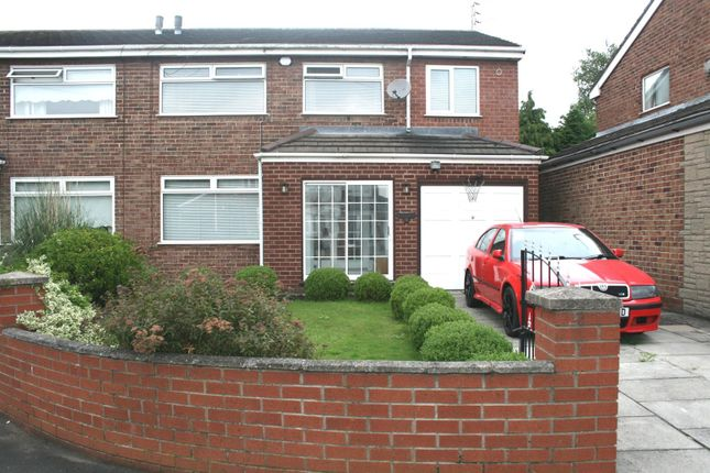 Thumbnail Semi-detached house for sale in Cheltenham Close, Aintree, Liverpool