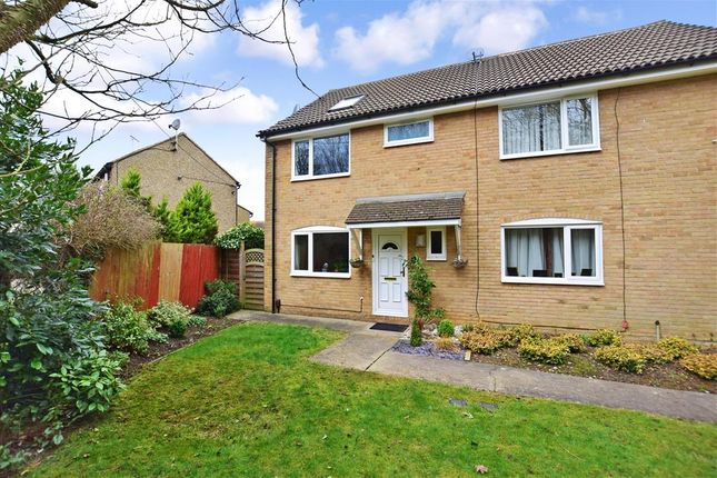 Thumbnail Semi-detached house for sale in Seven Acres, New Ash Green, Longfield, Kent
