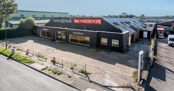 Thumbnail Warehouse for sale in Plot 26B & 28, Terminus Road, Chichester