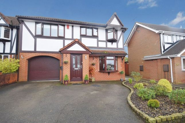 Thumbnail Detached house for sale in Meigh Road, Werrington, Stoke-On-Trent