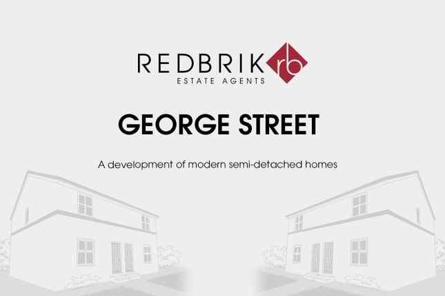 Thumbnail Semi-detached house for sale in George Street, North Wingfield, Chesterfield