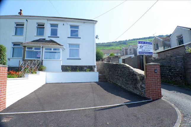 Semi-detached house for sale in The Chandlery, Tonypandy