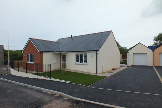 Thumbnail Detached bungalow for sale in Plot 8, Bowett Close, Hundleton, Pembroke