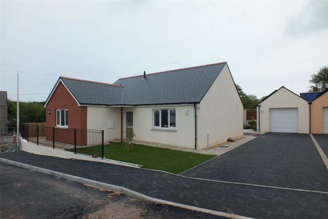Thumbnail Detached bungalow for sale in Plot 7, Bowett Close, Hundleton, Pembroke