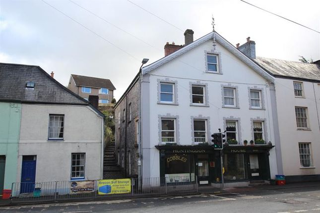 Thumbnail Commercial property for sale in The Struet, Brecon