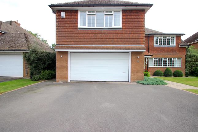 Double Garage of Holt Drive, Kirby Muxloe, Leicester LE9