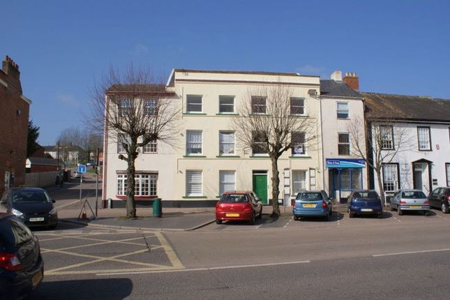 Thumbnail Flat to rent in High Street, Cullompton