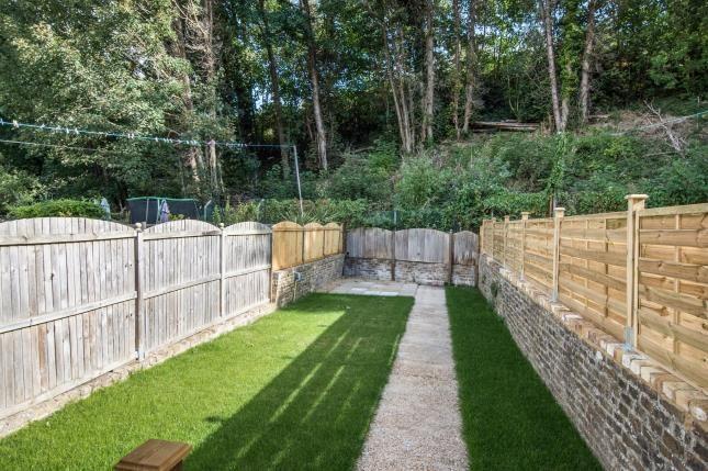 Garden of St. Andrews Terrace, Crabble Avenue, Dover, Kent CT17