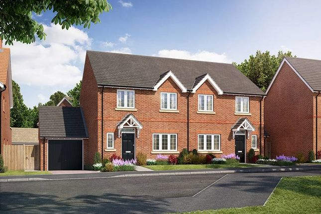 "Thumbnail Semi-detached house for sale in ""The Himscot"" at Oxford Road, Benson, Wallingford"