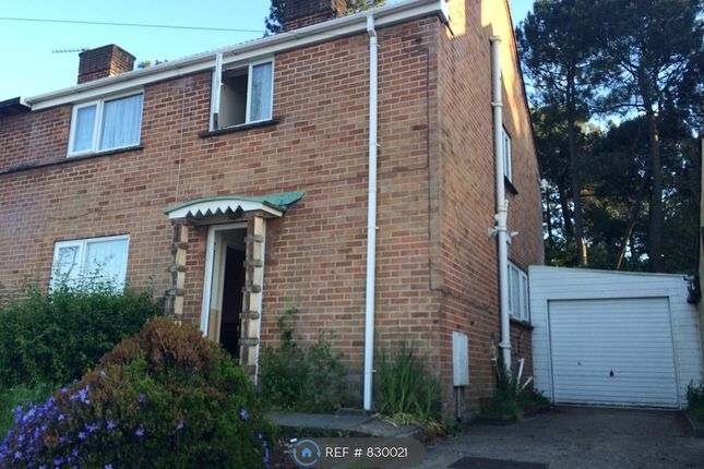 Thumbnail Semi-detached house to rent in Bedford Road South, Poole